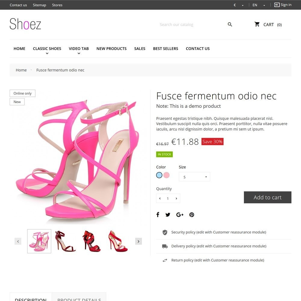 theme - Moda y Calzado - Shoez - 8