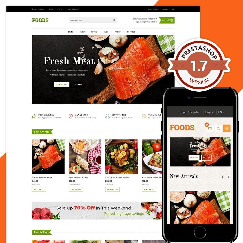 theme - Food & Restaurant - Food Shop II - 1