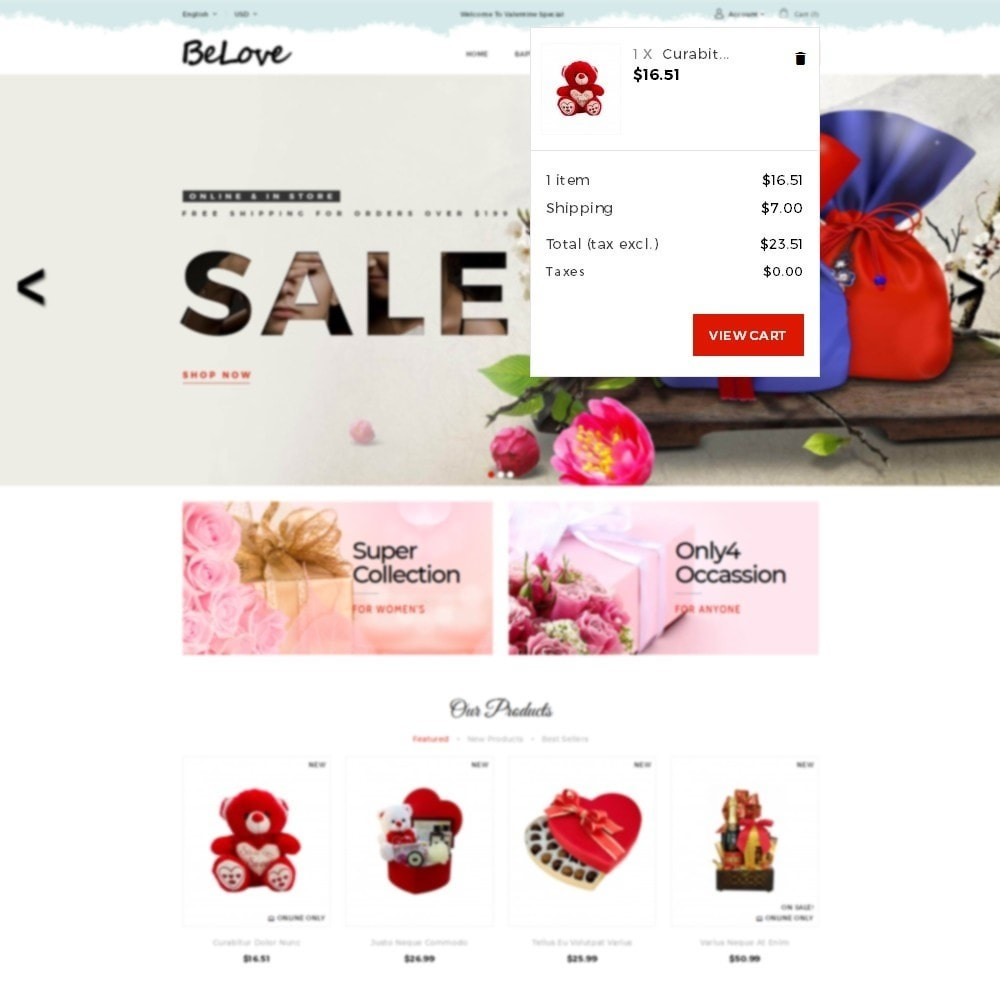 theme - Gifts, Flowers & Celebrations - Belove Gift Store - 7
