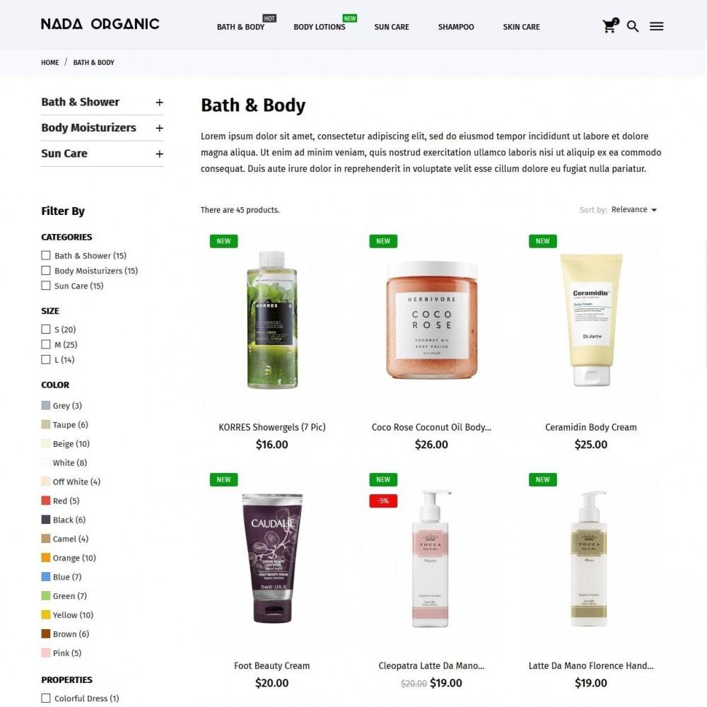 theme - Health & Beauty - Nada Organic - 5