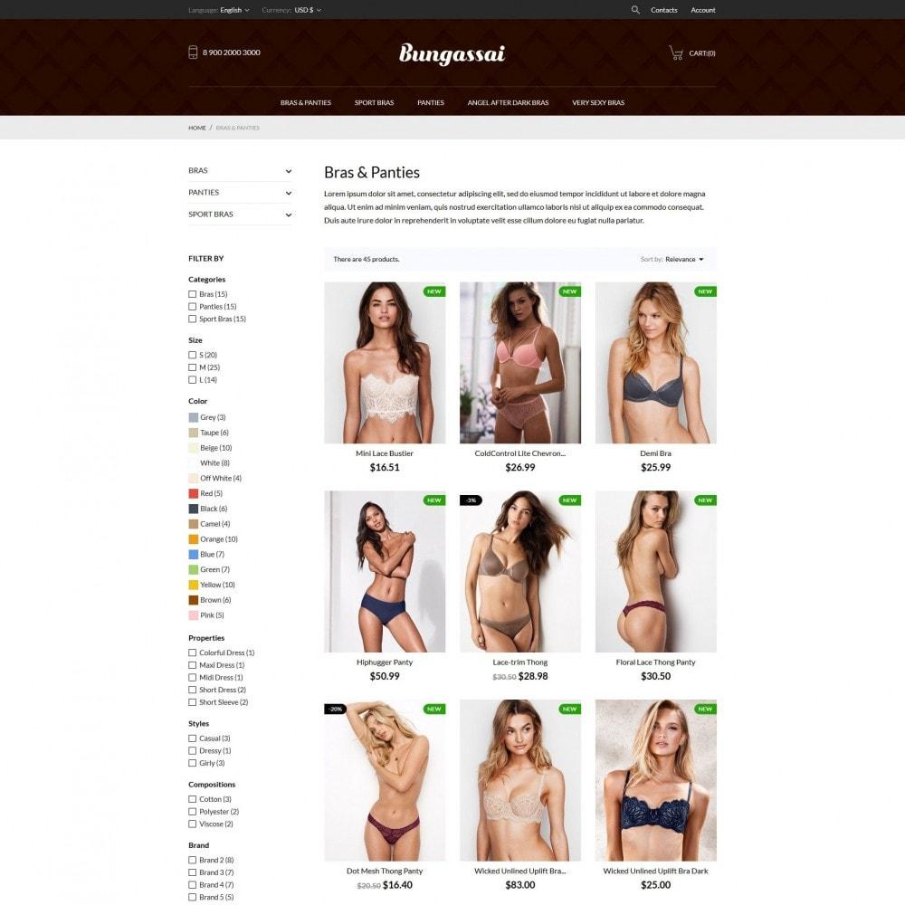 theme - Lingerie & Adultos - Bungassai Lingerie Shop - 5