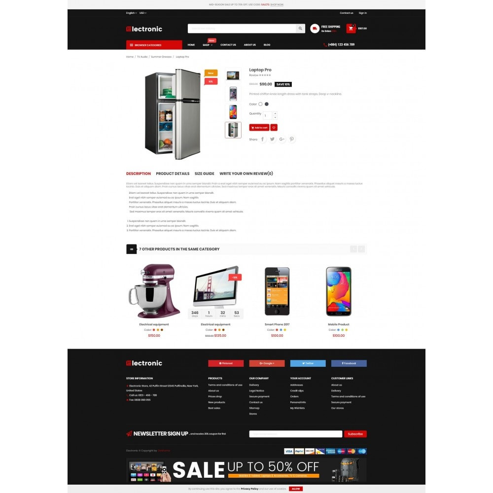 theme - Elektronica & High Tech - Electronic Online Store - 4