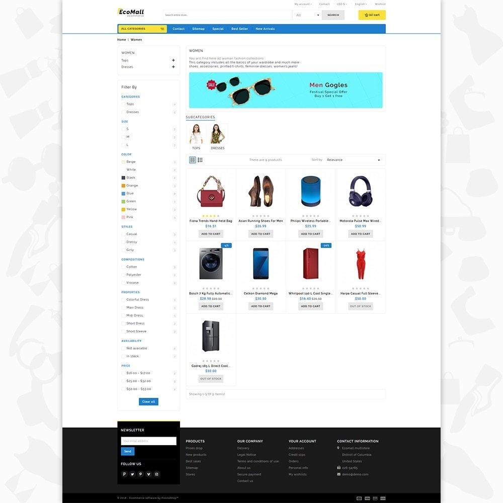 theme - Elettronica & High Tech - EcoMall - The Mega Ecommerce Store - 3