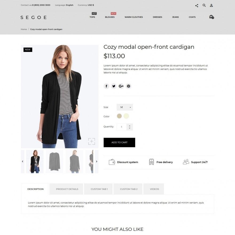 theme - Moda y Calzado - Segoe Fashion Store - 7
