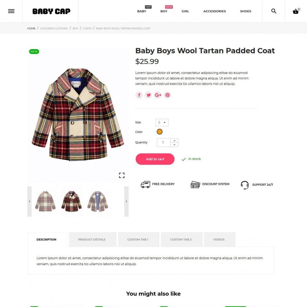 theme - Crianças & Brinquedos - Baby cap - 7