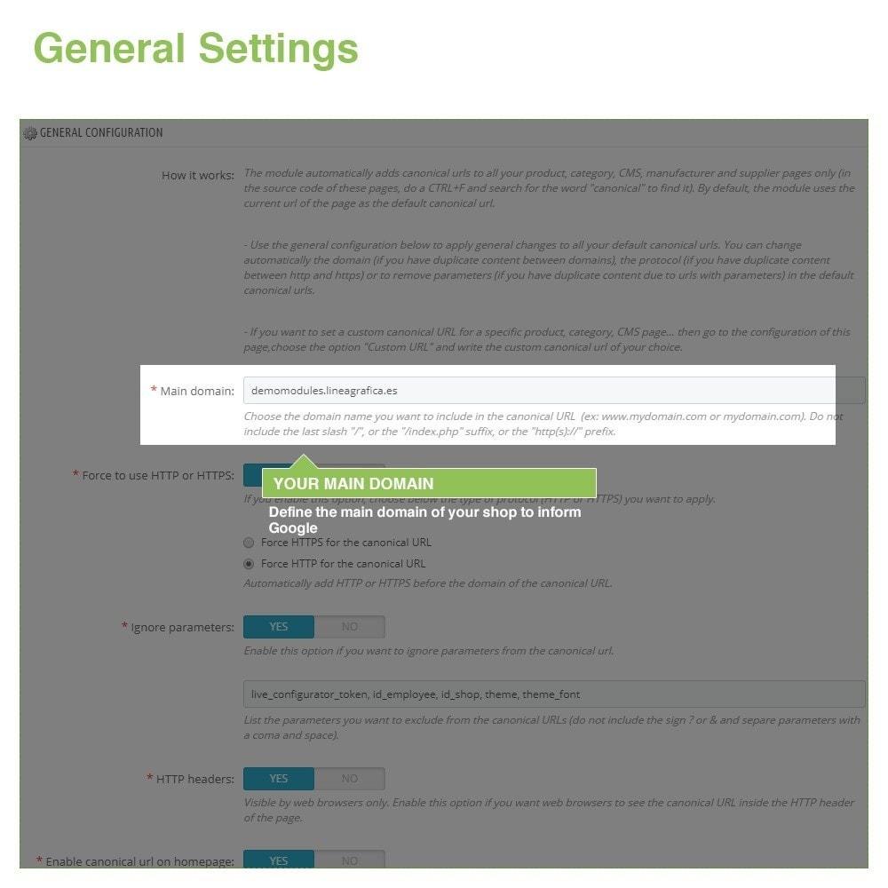 module - Управления адресами URL и перенаправлением - Canonical SEO URLs to Avoid Duplicate Content - 2
