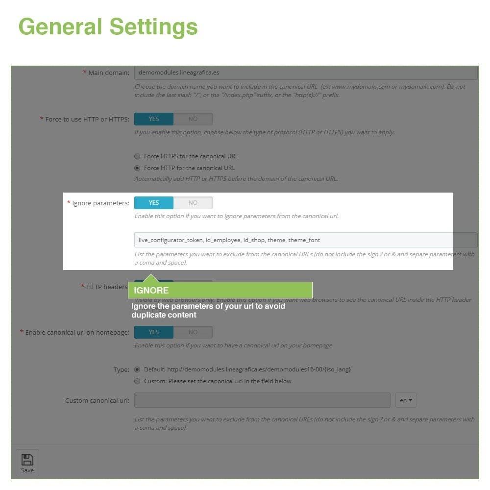 module - Gestão de URL & Redirecionamento - Canonical URLs to Avoid Duplicate Content - SEO - 4
