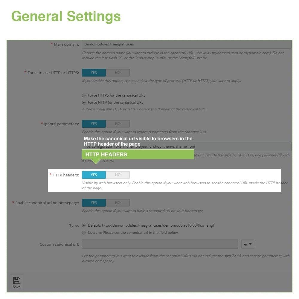 module - Gestão de URL & Redirecionamento - Canonical URLs to Avoid Duplicate Content - SEO - 5
