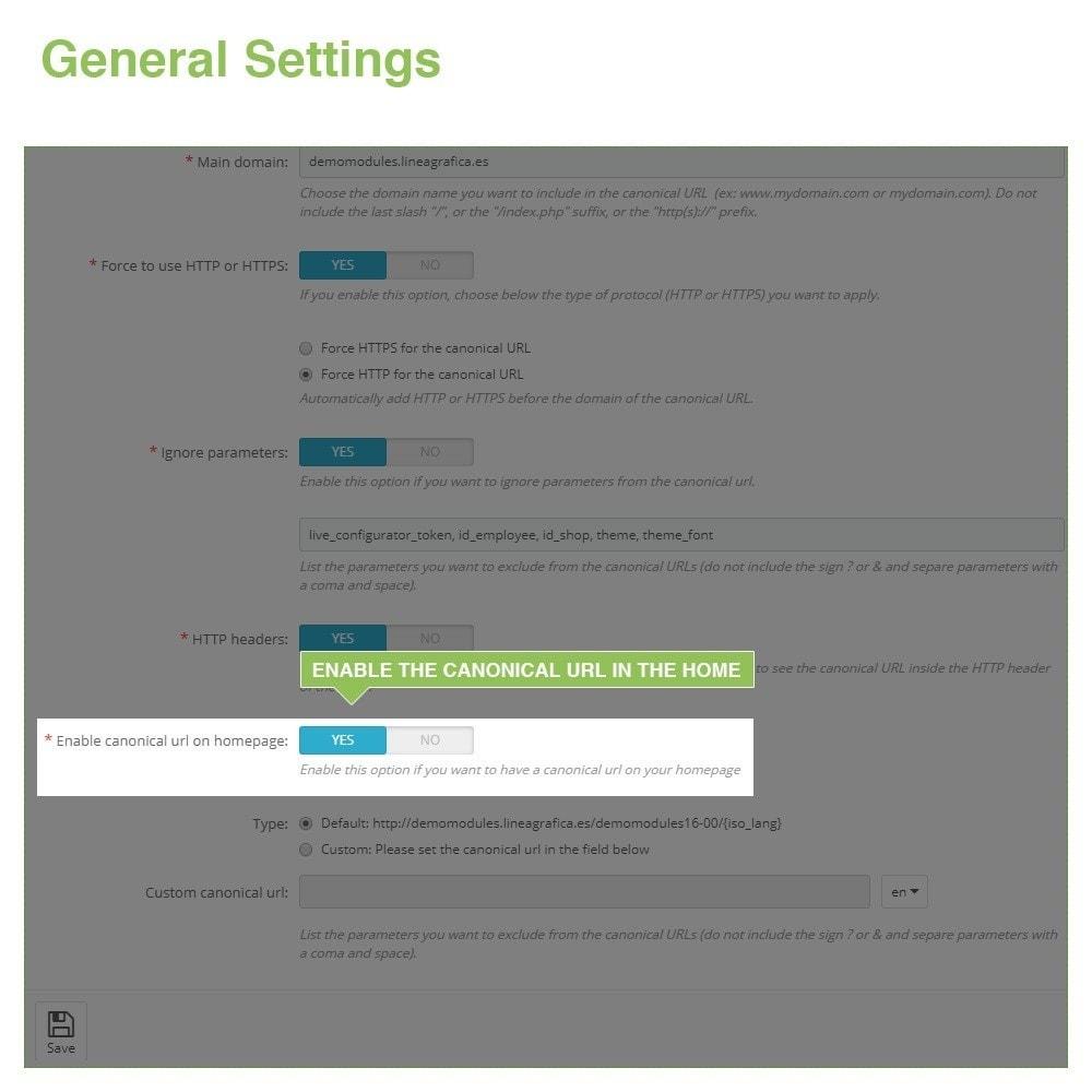 module - Gestão de URL & Redirecionamento - Canonical URLs to Avoid Duplicate Content - SEO - 6