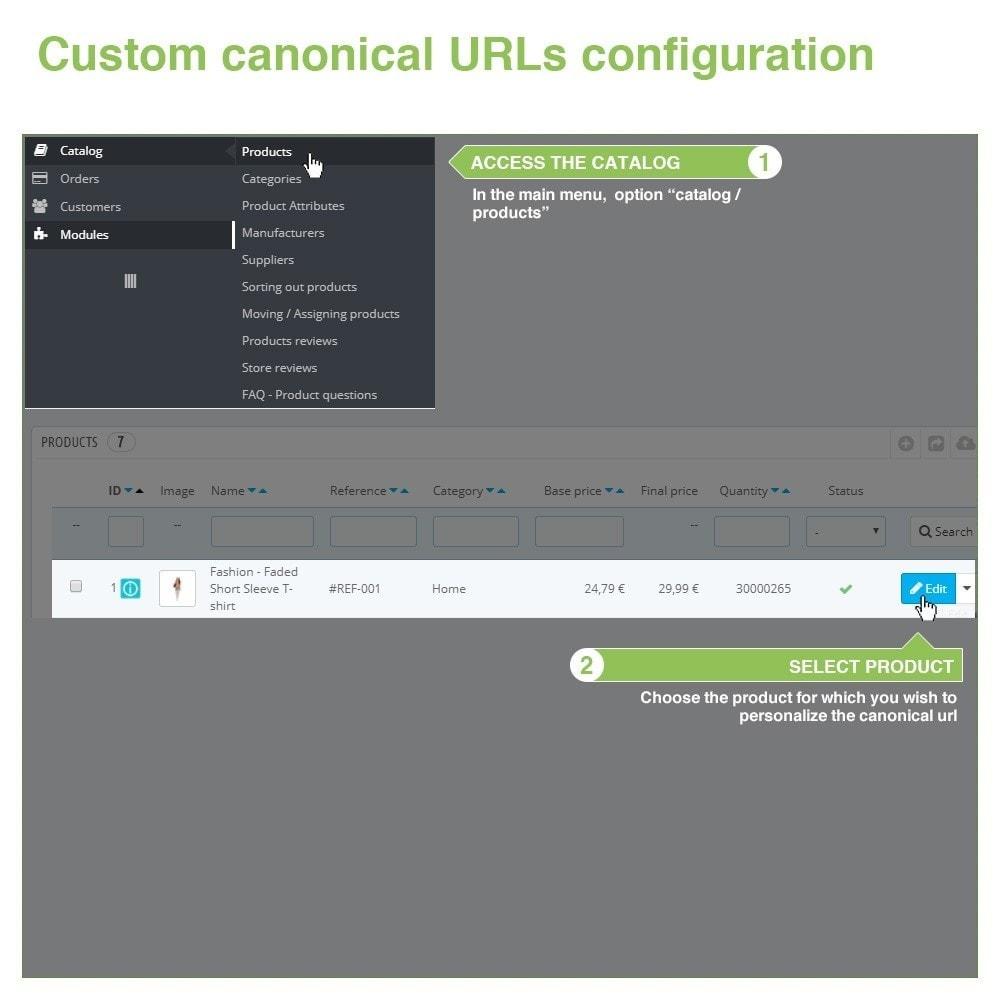 module - Управления адресами URL и перенаправлением - Canonical SEO URLs to Avoid Duplicate Content - 10