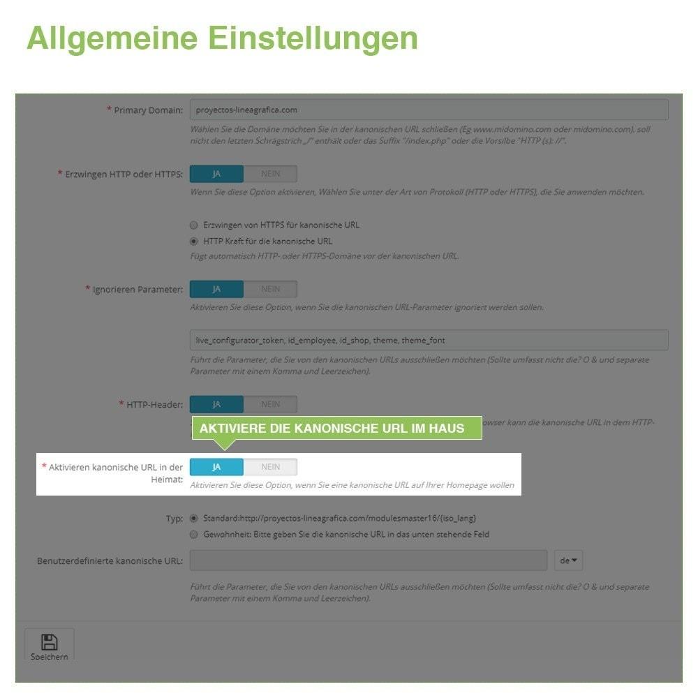 module - URL & Redirects - Kanonische URLs, um doppelte Inhalte zu vermeiden - SEO - 6