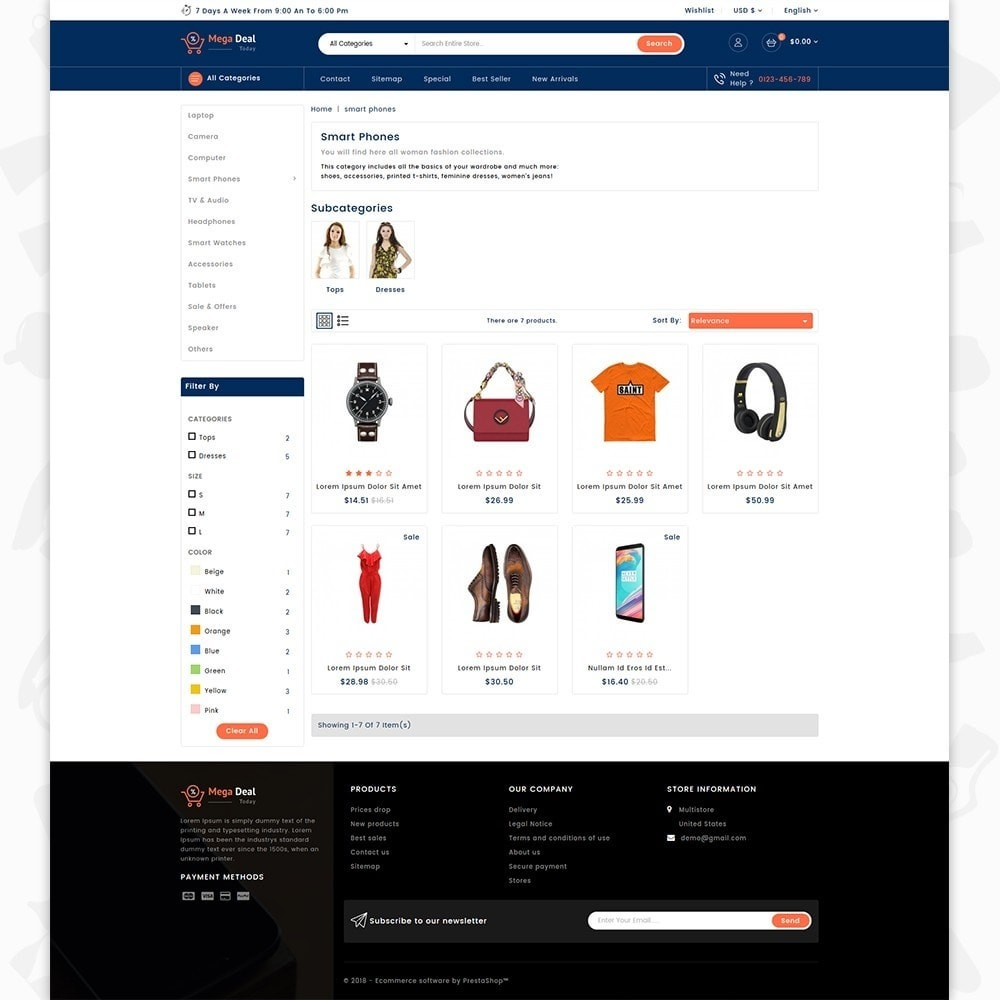 theme - Electronics & Computers - MegaDeal - Ecommerce Shop - 3