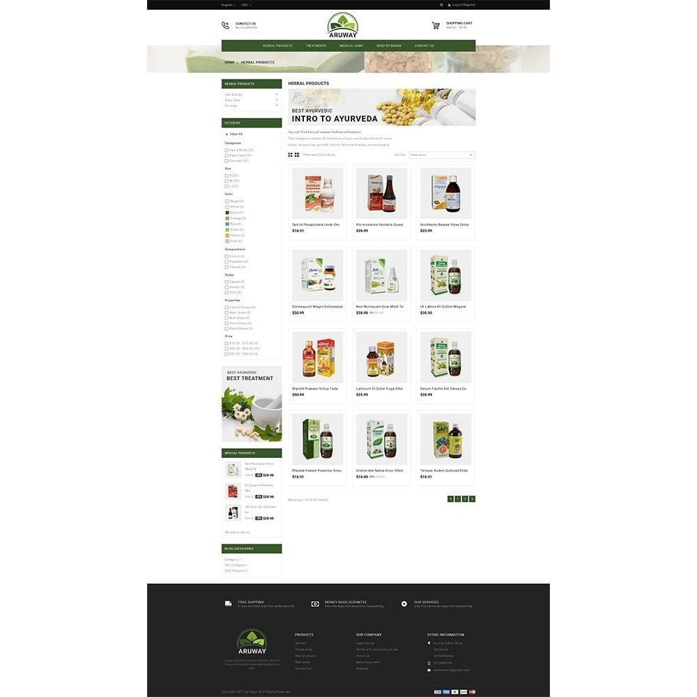 theme - Gesundheit & Schönheit - Aruway health store - 3