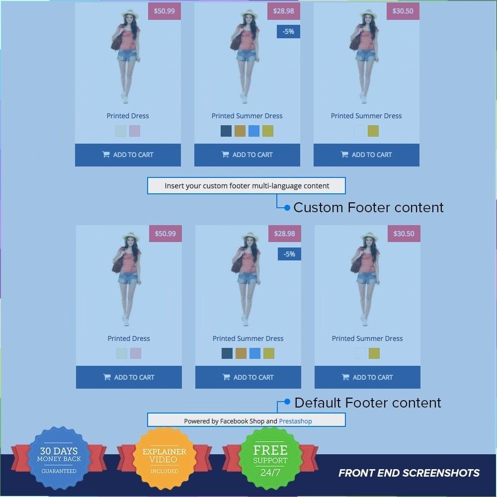 module - Produtos nas Facebook & Redes Sociais - Social Network Shop PRO - 13