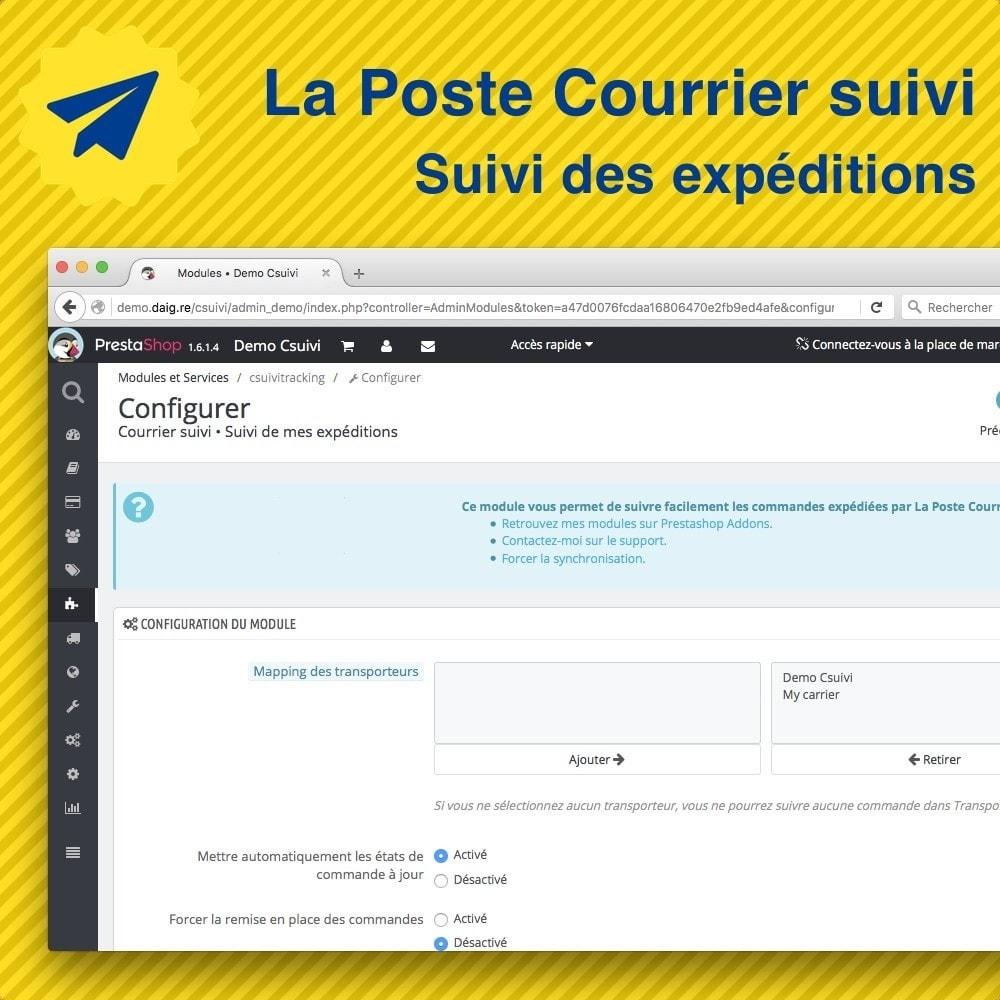 module - Отслеживание заказа - Suivi des expéditions La Poste, Colissimo, Chronopost - 4