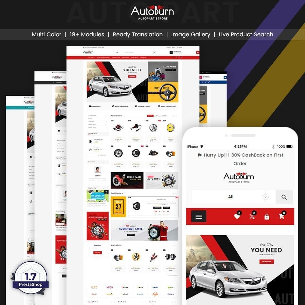 theme - Autos & Motorräder - AutoBurn – AutoPart and Tool Super Store v3 - 1