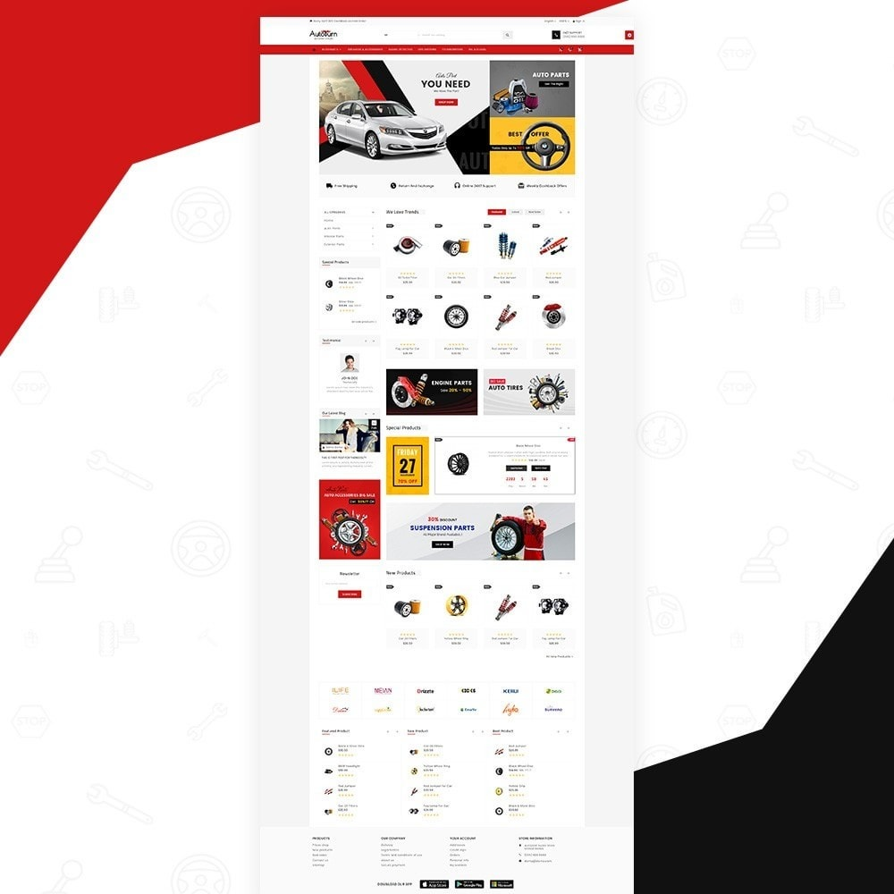 theme - Samochody - Auto Burn  Auto Part and Accessories Super Store v3 - 3