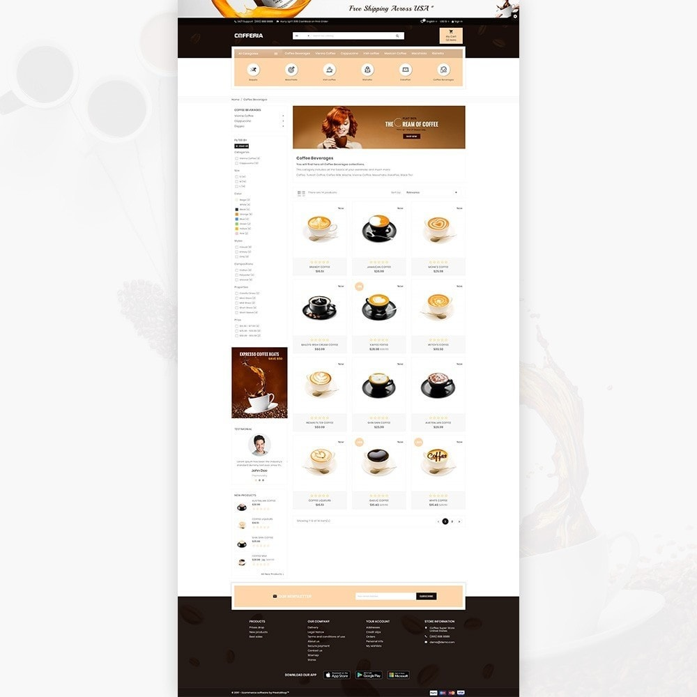theme - Drink & Tobacco - Cofferia – Coffee Super Store - 3