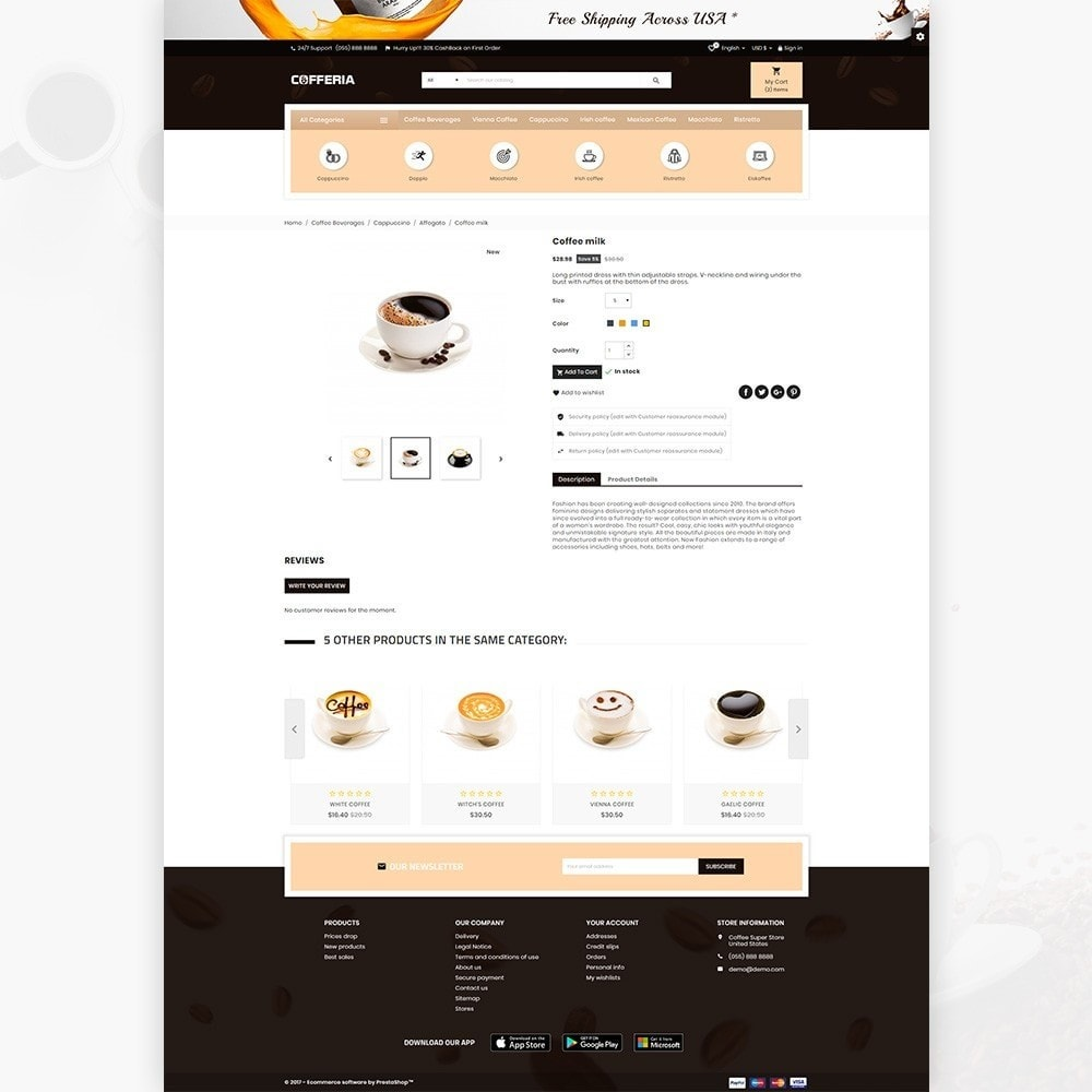 theme - Drink & Tobacco - Cofferia – Coffee Super Store - 4