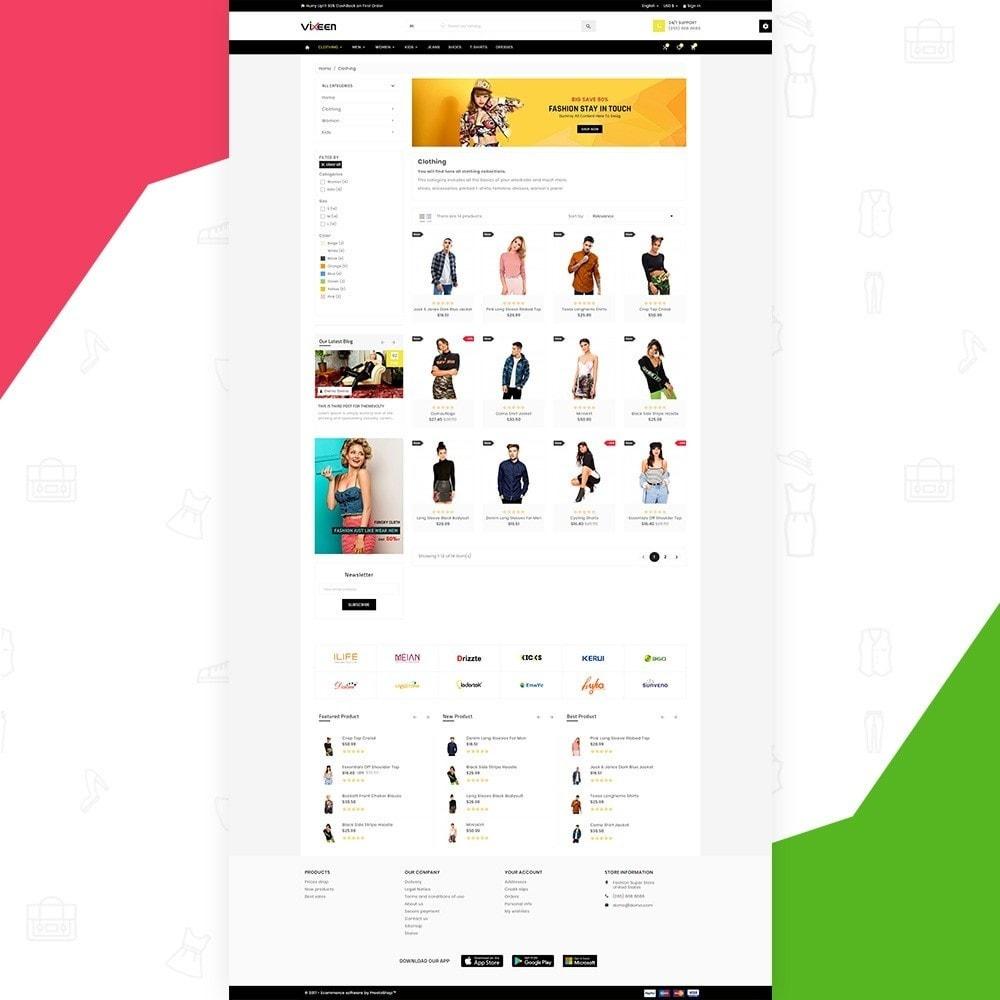 theme - Moda & Calçados - Vixeen Stylo Fashion Super Store v3 - 4