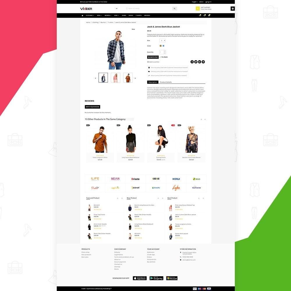 theme - Moda & Calçados - Vixeen Stylo Fashion Super Store v3 - 5
