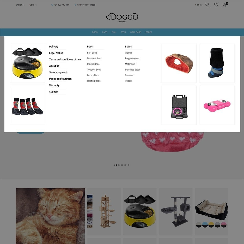 theme - Animaux - Doggo - Pet Shop - 4