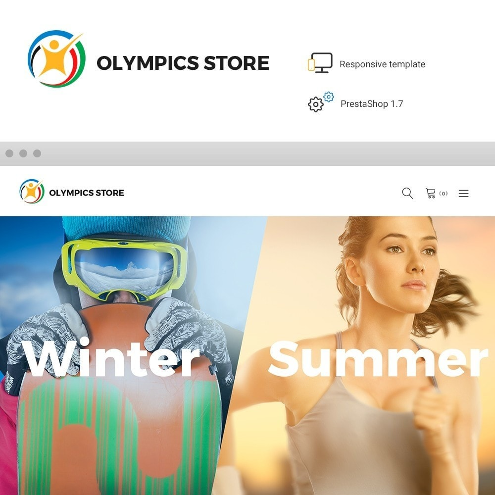 theme - Deportes, Actividades y Viajes - Olympics Store - Professional Sports - 1