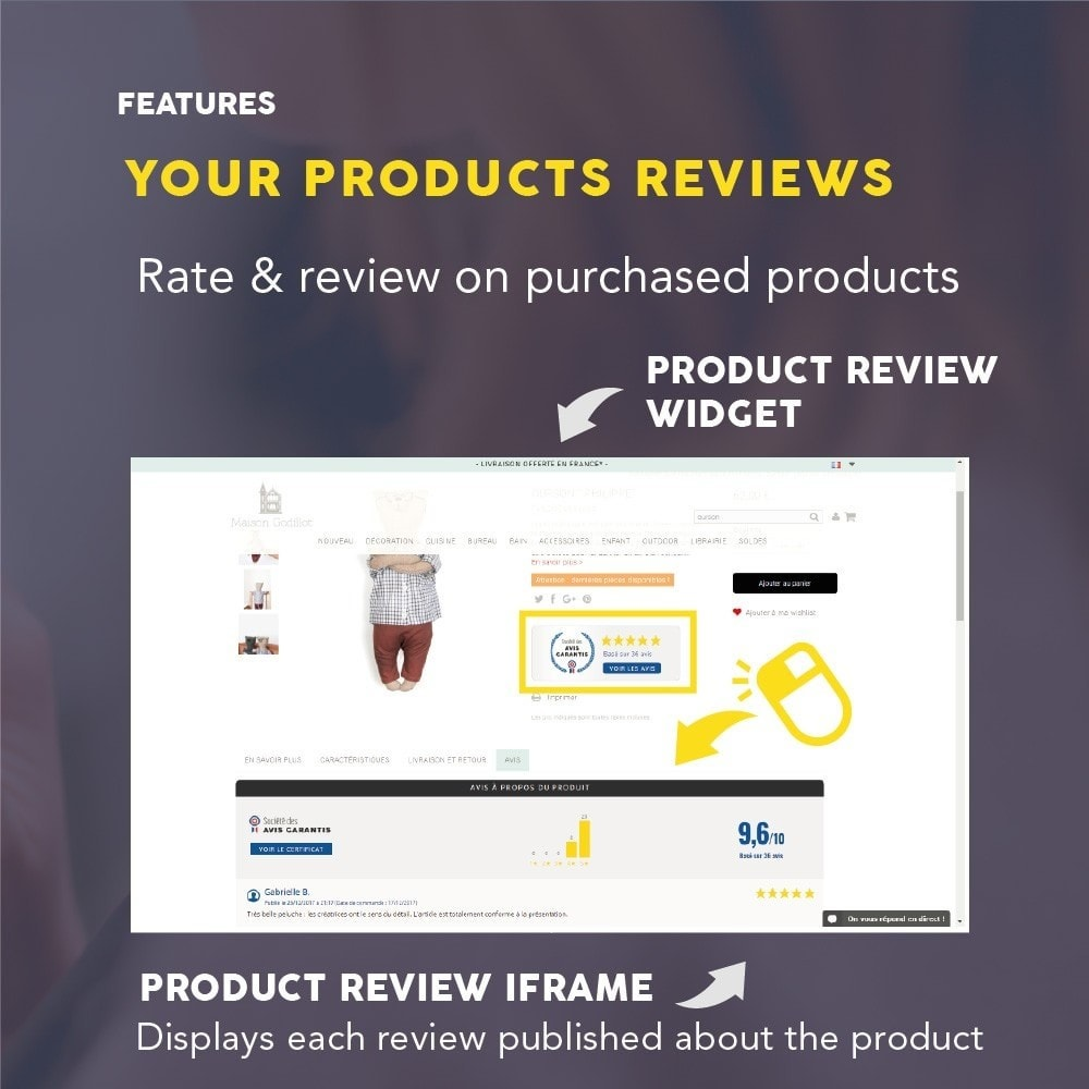module - Klantbeoordelingen - Guaranteed Reviews Company, shop and product ratings - 8