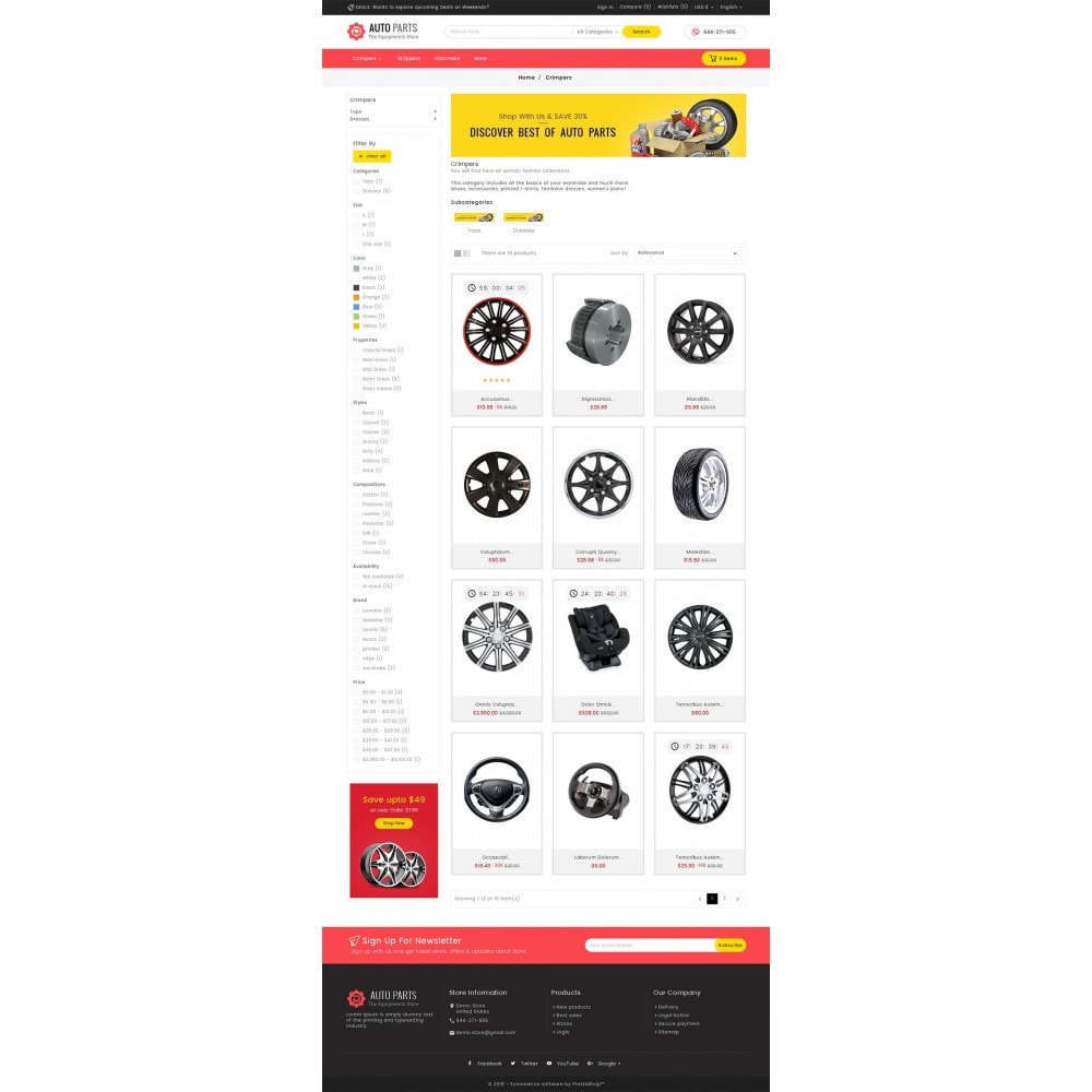theme - Auto's & Motoren - Auto Equipment Parts - 3