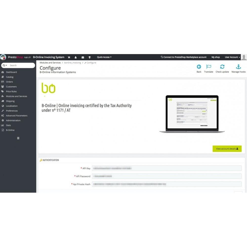 module - Comptabilité & Facturation - B-Online Invoicing - 1