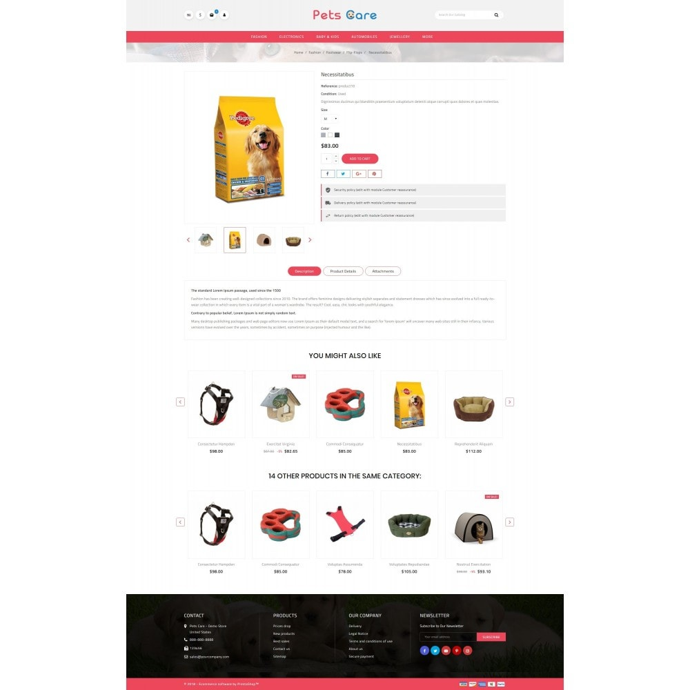theme - Animais - Pets Care - Animals Store - 5