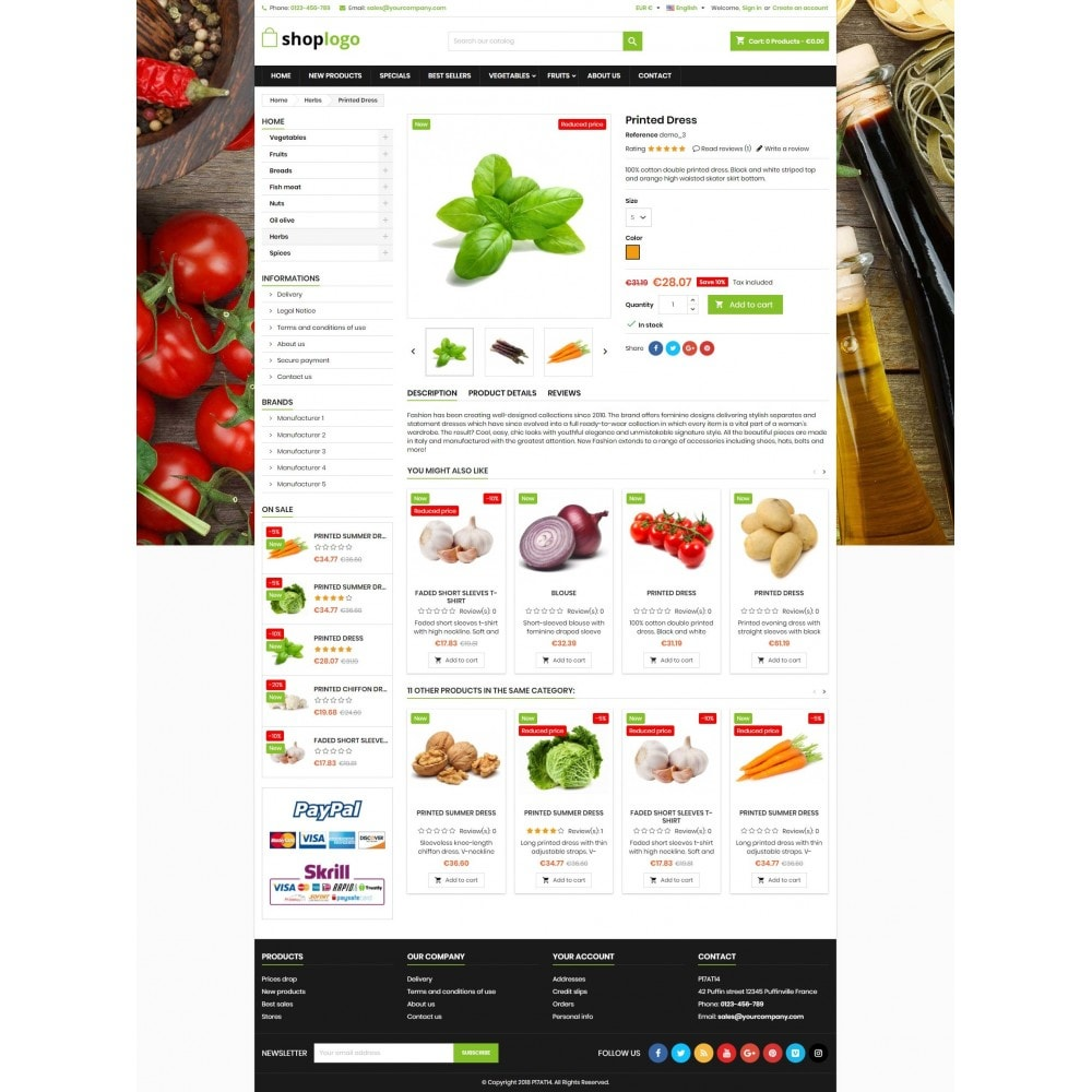 theme - Alimentation & Restauration - P17AT14 Food store - 4