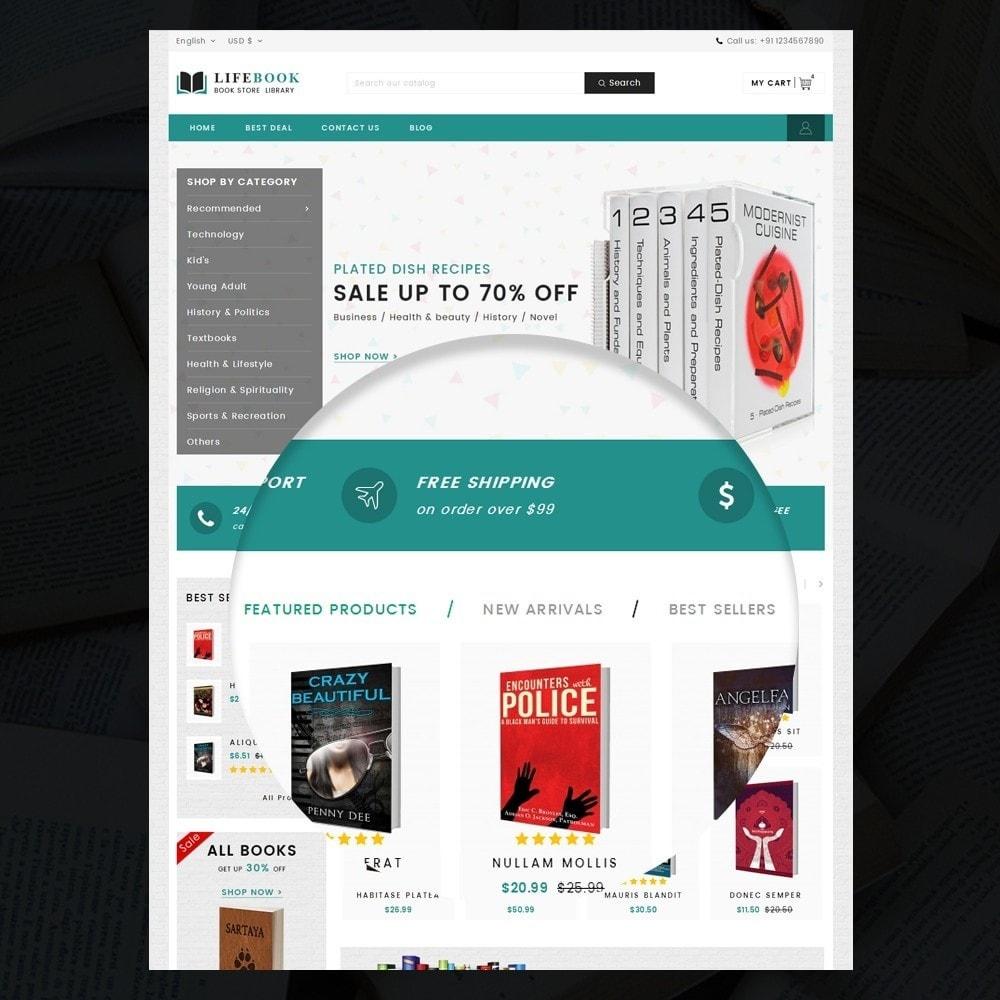 theme - Arte y Cultura - Books Store - 7