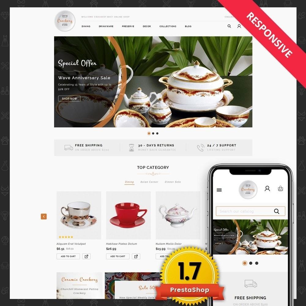 theme - Casa & Jardins - Kitchen Crockery Store - 1