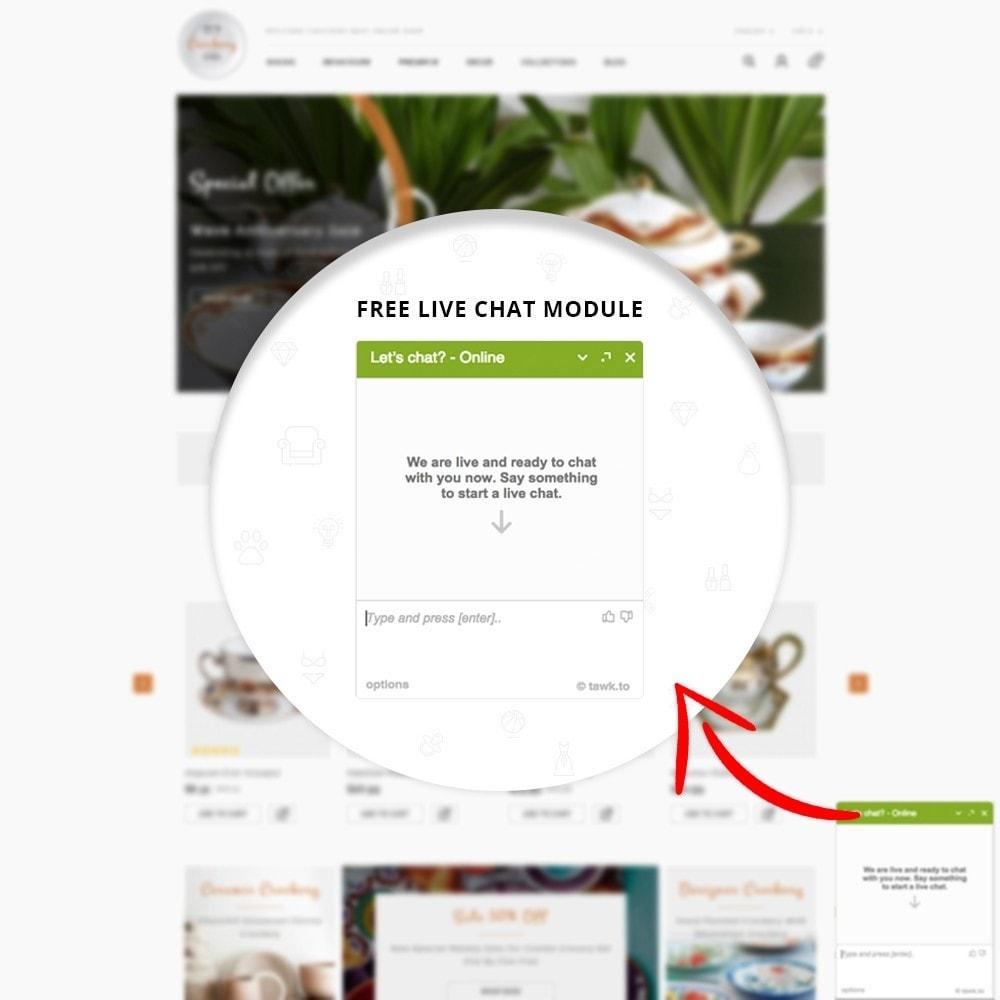 theme - Casa & Jardins - Kitchen Crockery Store - 9