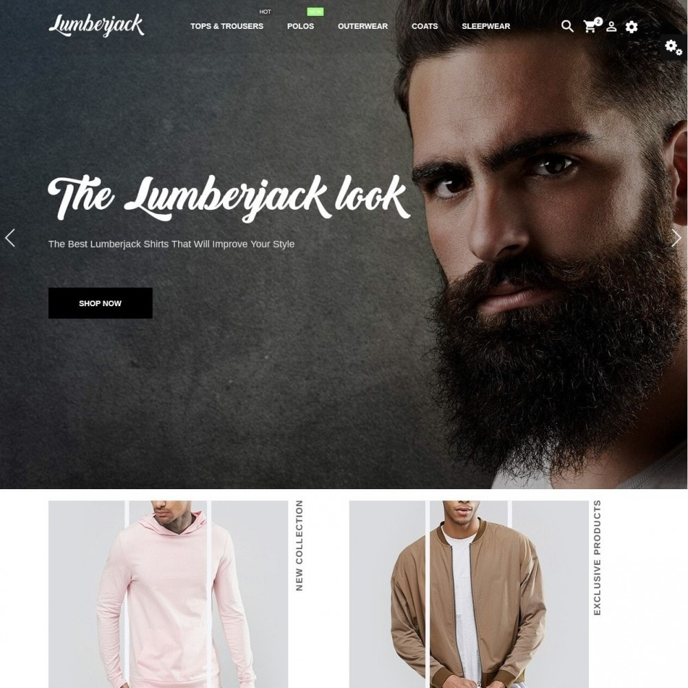 theme - Moda y Calzado - Lumberjack Men's Wear - 2