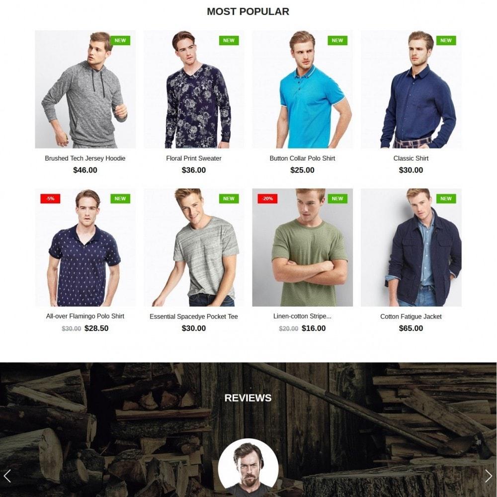 theme - Moda y Calzado - Lumberjack Men's Wear - 3