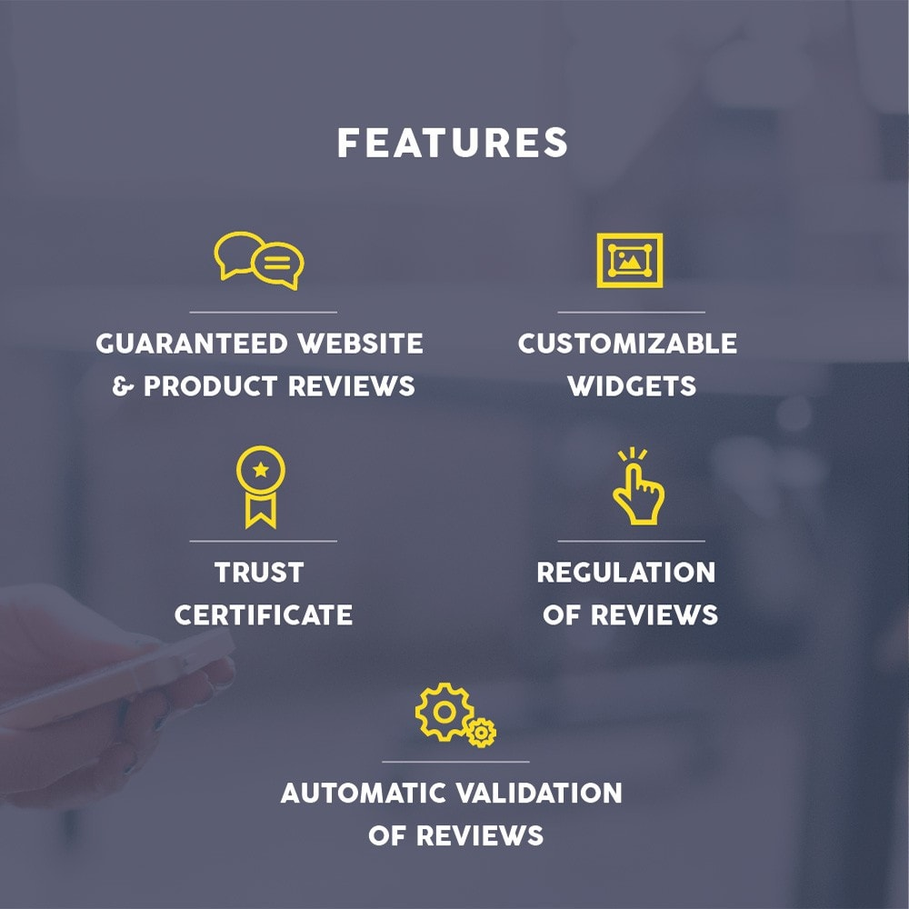 module - Customer Reviews - Guaranteed Reviews Company, shop and product ratings - 6