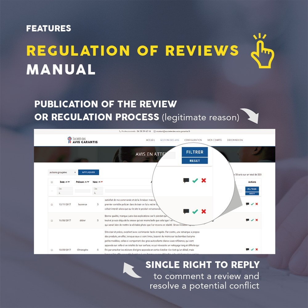 module - Customer Reviews - Guaranteed Reviews Company, shop and product ratings - 13