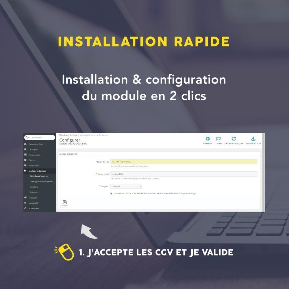 module - Avis clients - Avis client - Société des Avis Garantis - 21