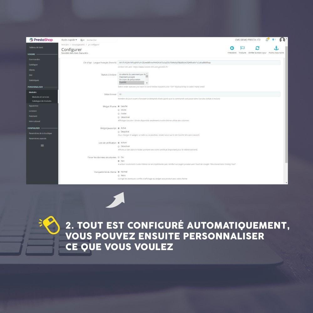 module - Avis clients - Avis client - Société des Avis Garantis - 22