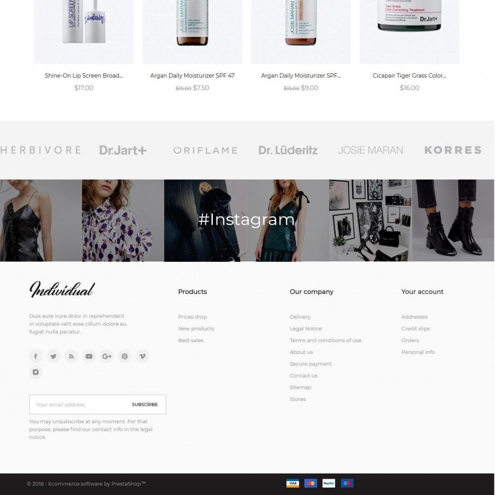 theme - Santé & Beauté - Individual Cosmetics - 4