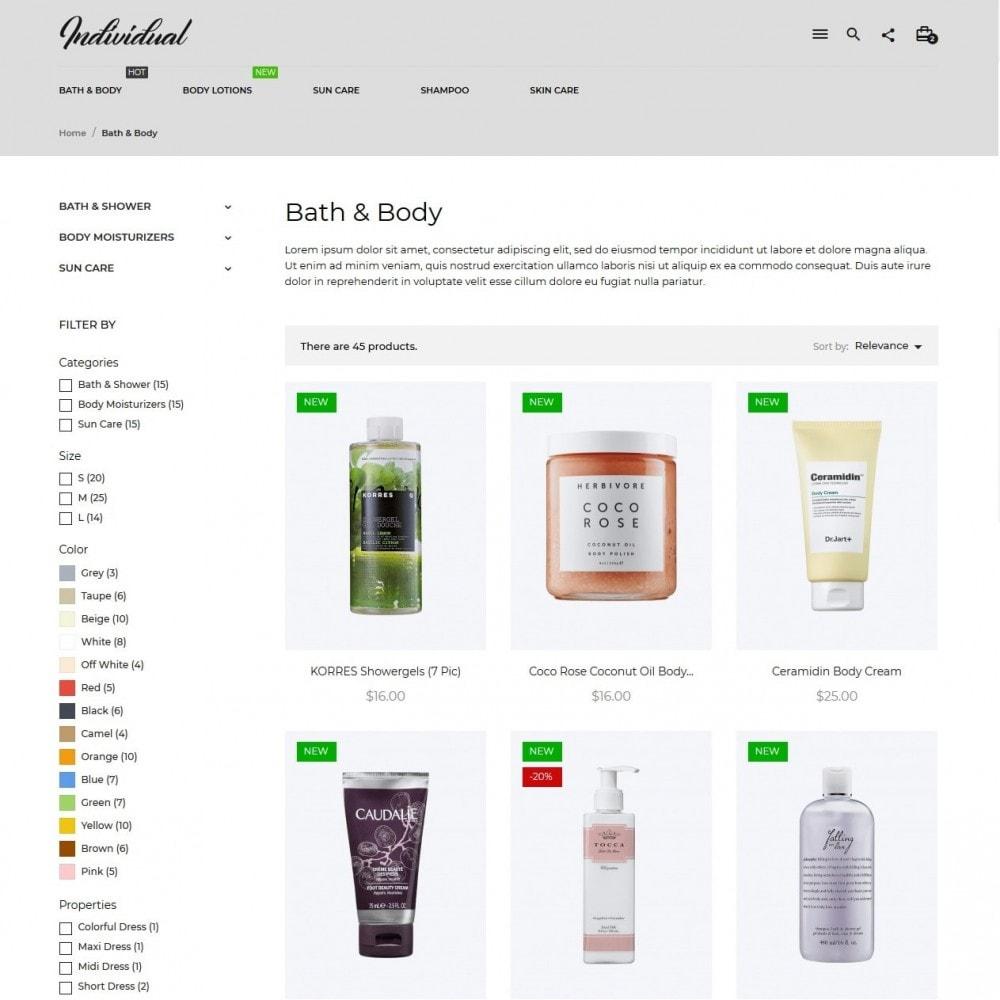 theme - Santé & Beauté - Individual Cosmetics - 5