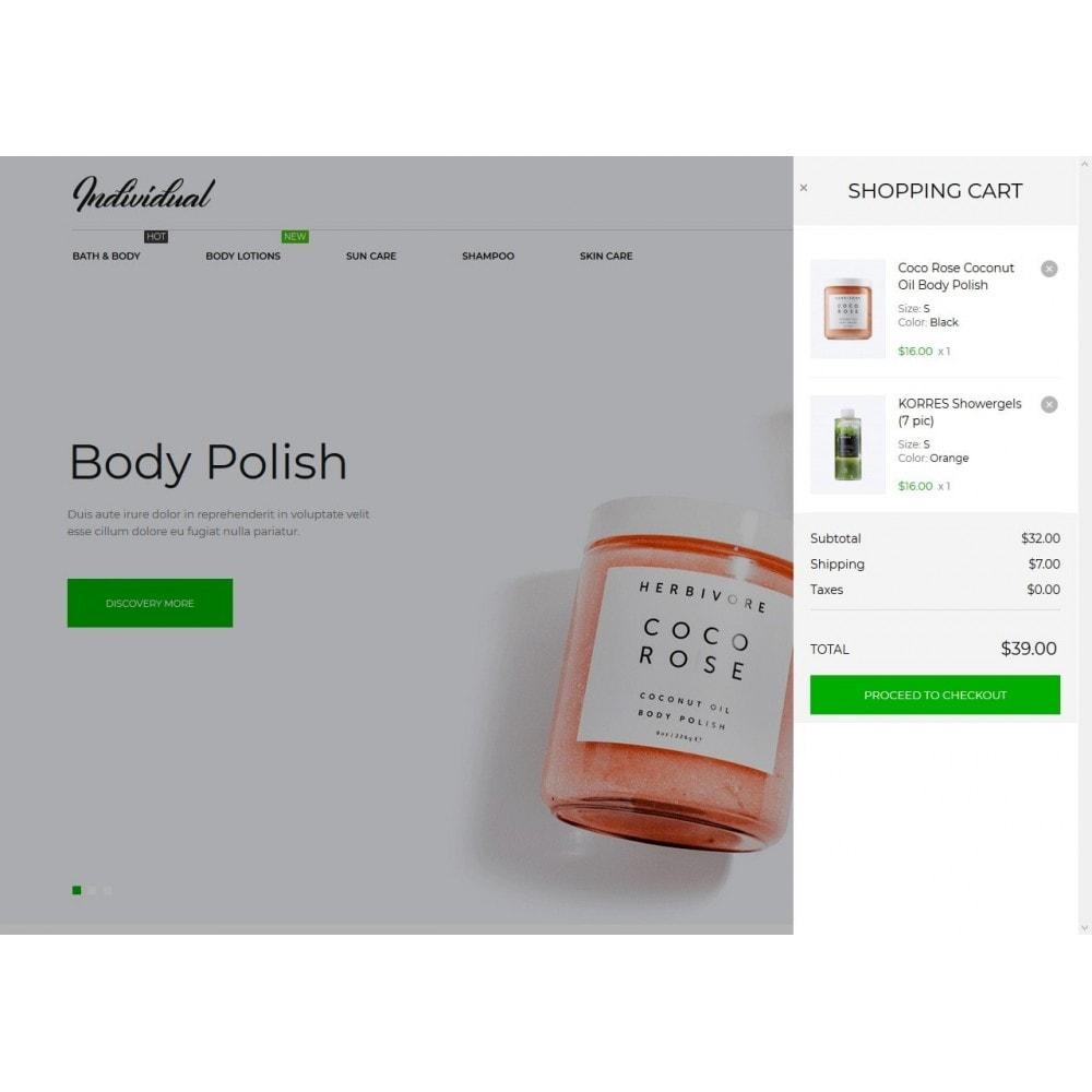 theme - Santé & Beauté - Individual Cosmetics - 7