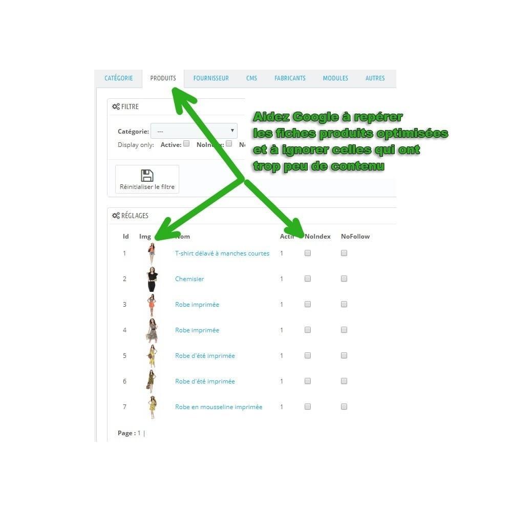 module - SEO (référencement naturel) - Booster votre référencement sur Google grâce au noindex - 5