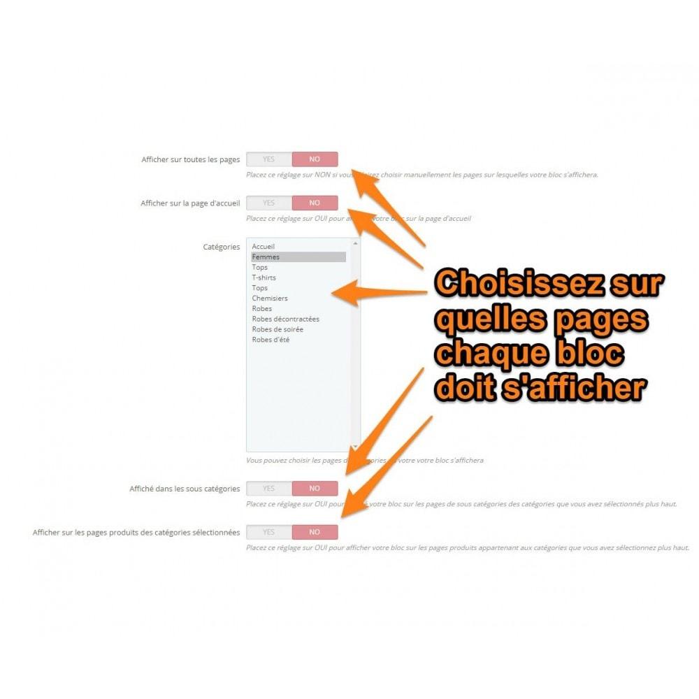 module - Blog, Forum & Actualités - Multi html block - 3