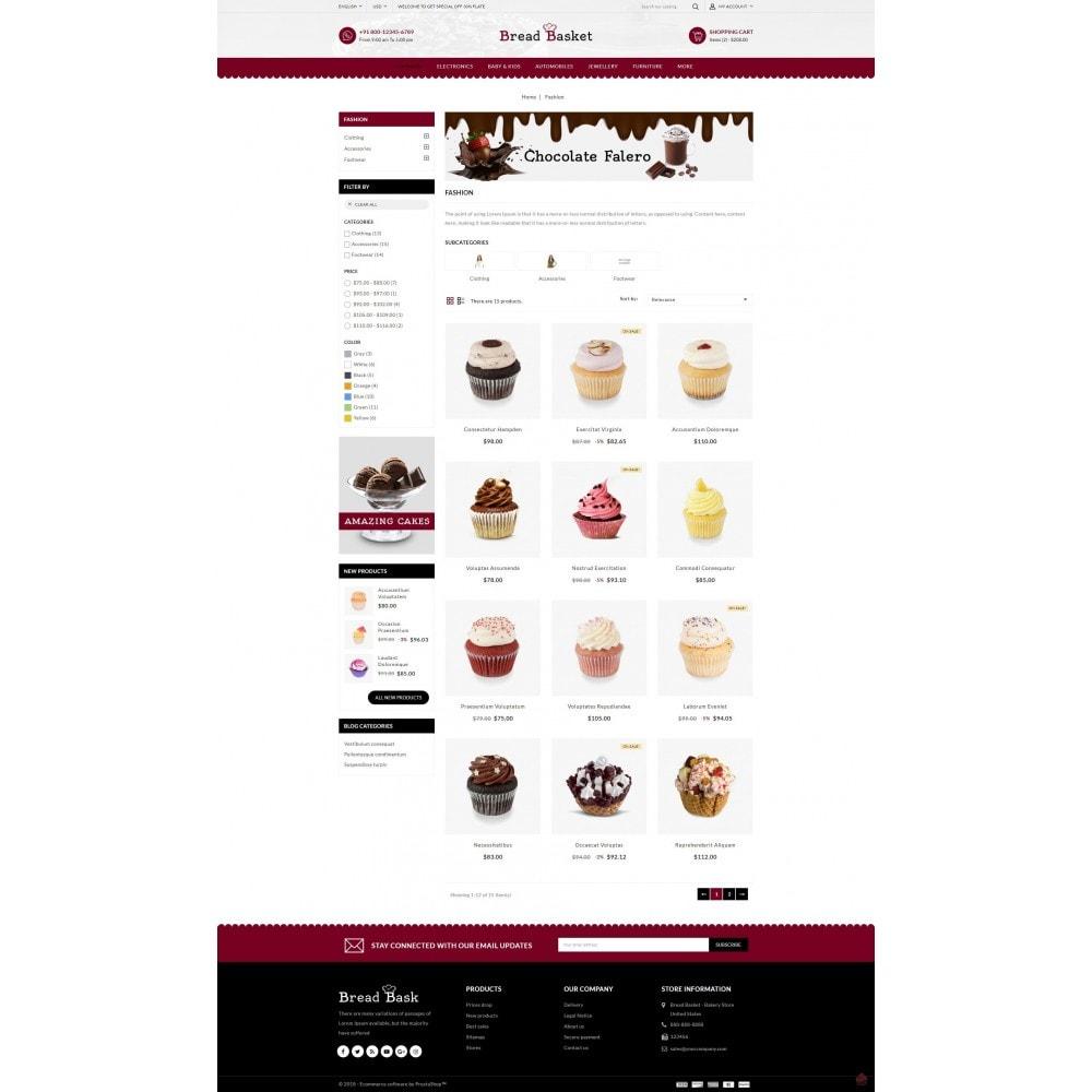 theme - Продовольствие и рестораны - Bread Basket - Bakery Shop - 3