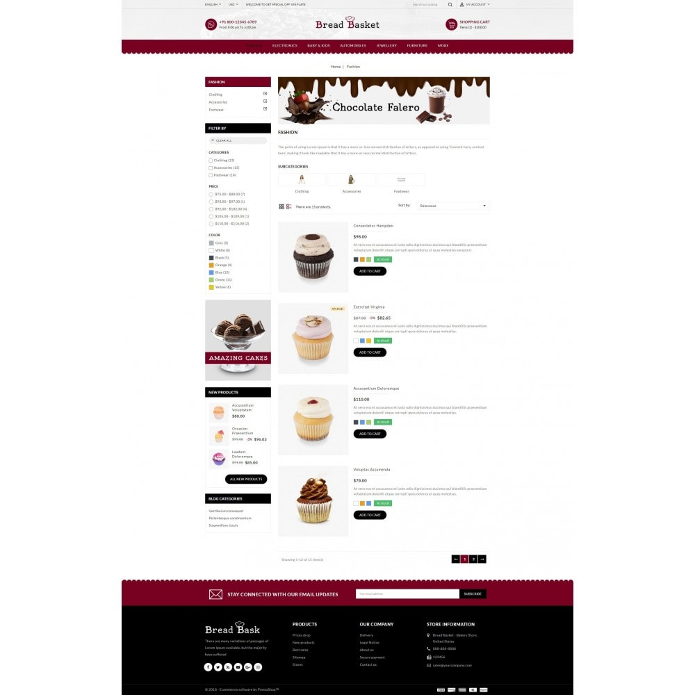 theme - Lebensmittel & Restaurants - Bread Basket - Bakery Shop - 4