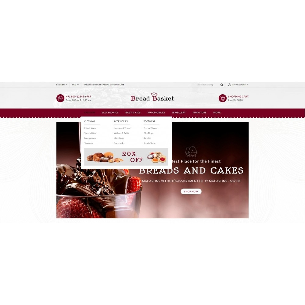 theme - Lebensmittel & Restaurants - Bread Basket - Bakery Shop - 6