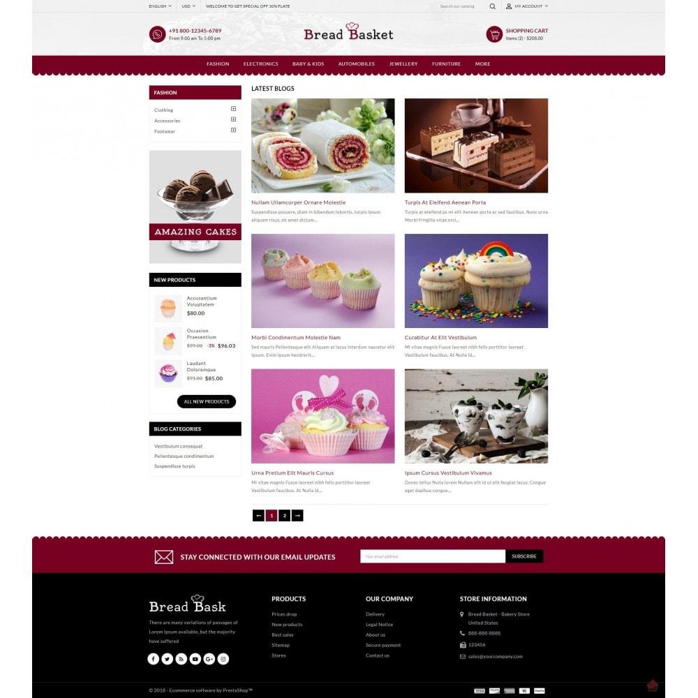 theme - Продовольствие и рестораны - Bread Basket - Bakery Shop - 10